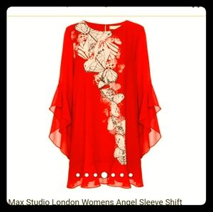Max studio shift dress.size XL